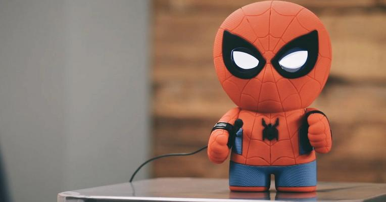 Like Toy Tv : Sphero s new toy is a chatty spider man techcrunch