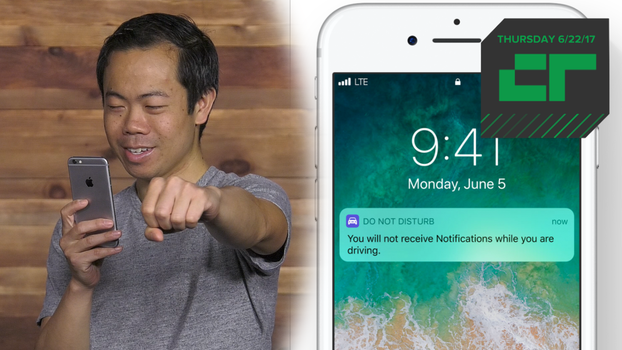 Apple Rolls Out Safe Driving Feature | Crunch Report