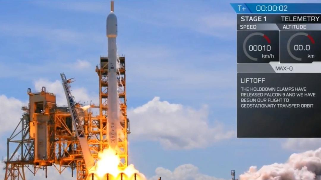 SpaceX successfully launches reused Falcon 9 rocket