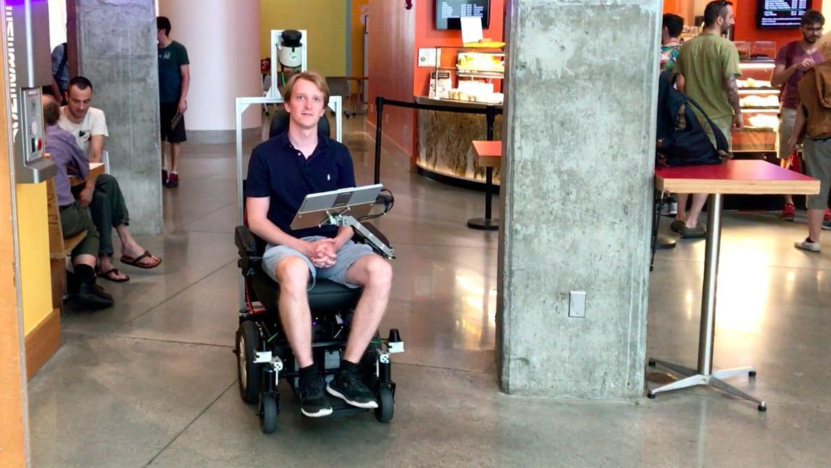 Taking a ride in MIT's autonomous wheelchair