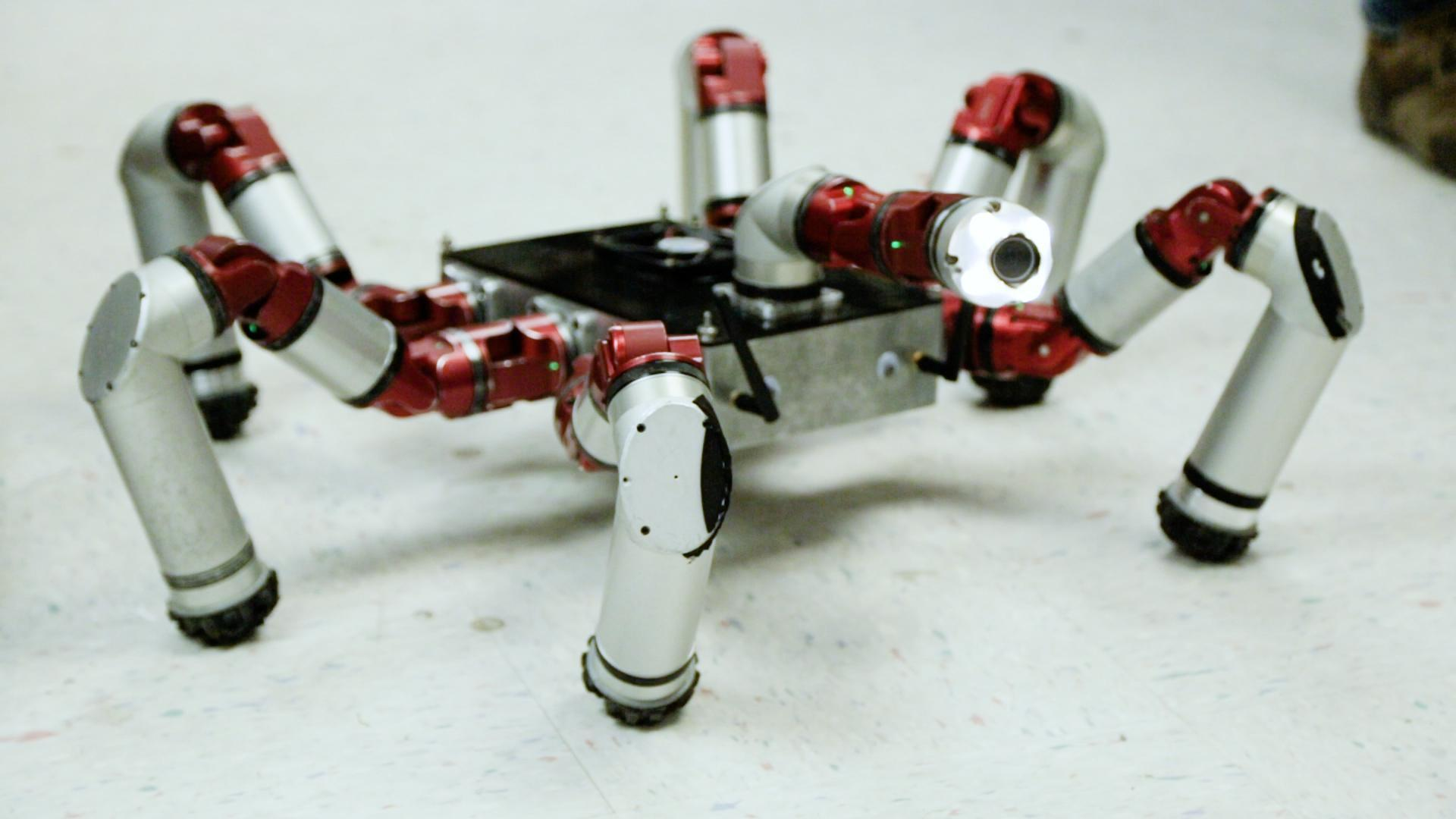 Carnegie Mellon's snake robot is inspired by nature