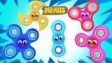 Fidget Spinner Finger Family | Nursery Rhymes For Ch...
