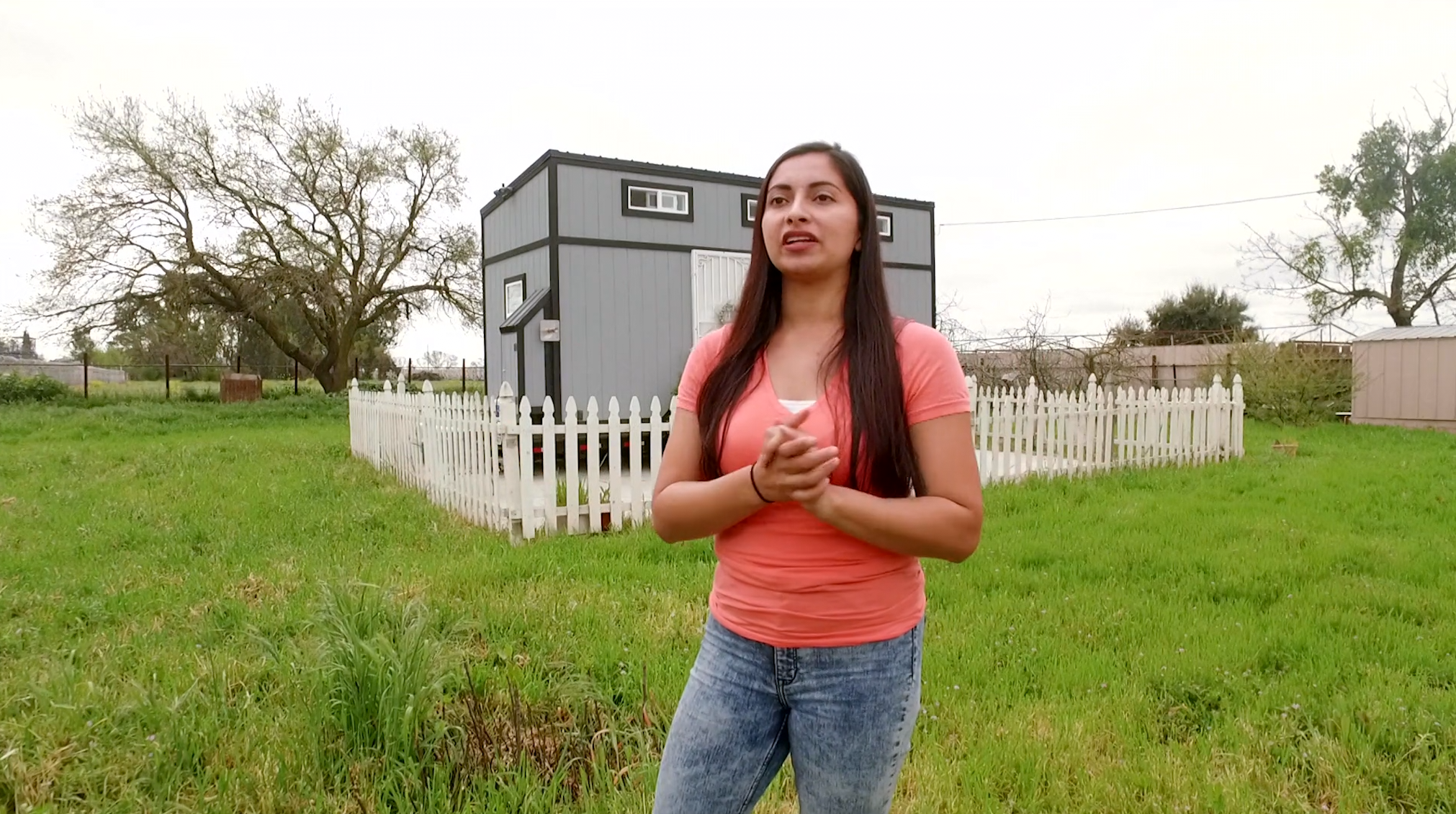 Dream Big, Live Small: Tiny home on wheels allows one homeowner to see the world