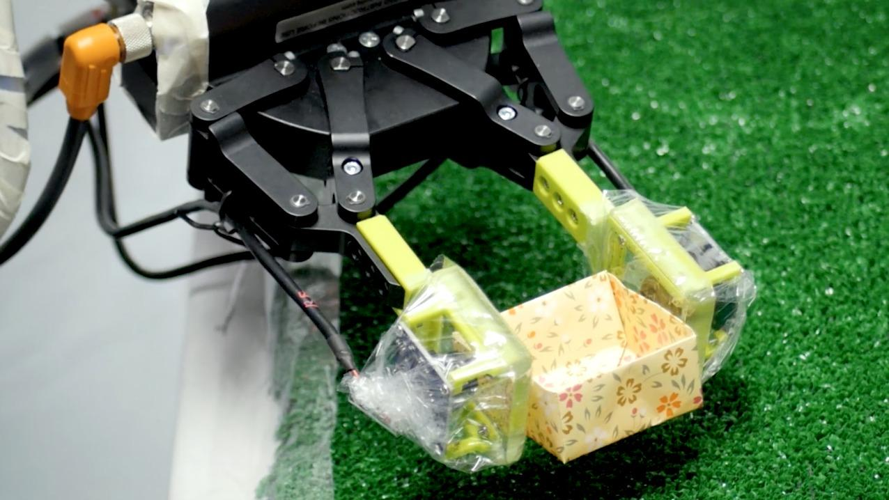 Carnegie Mellon designed an inexpensive way to help robots 'feel' objects