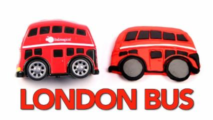 Play Doh London Bus   Bus For Kids   Kids Learning Videos   Vehicles For Kids   Fun With Play Doh
