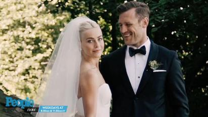 Julianne Hough S Groom Had A Powerful Reaction To Seeing Her