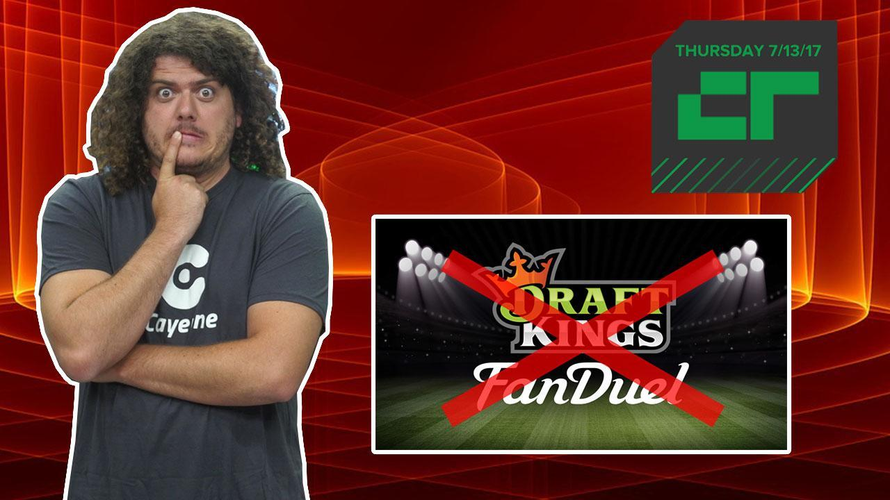 DraftKings and FanDuel No Longer Merging | Crunch Report