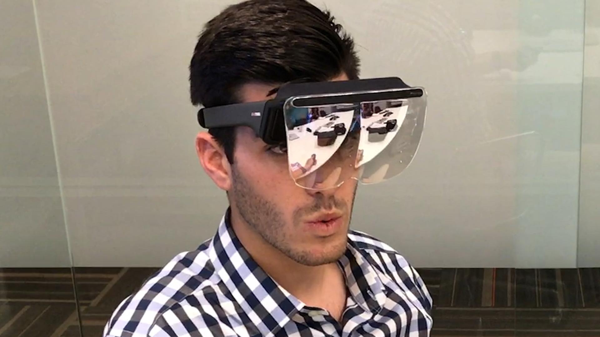 Mira AR headset