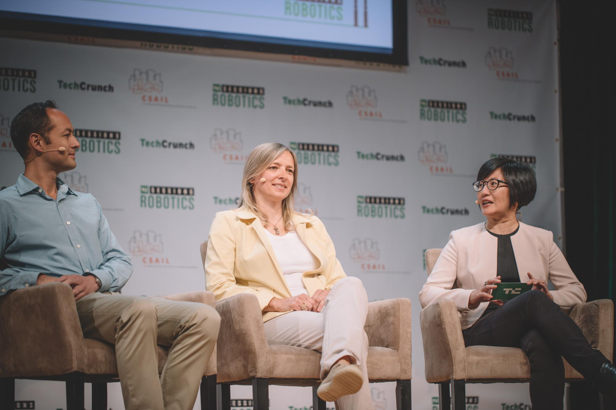 Building A Robotics Startup from Angel to Exit with Helen Greiner (CyPhy Works), Andy Wheeler (GV) and Elaine Chen (Martin Trust Center for MIT Entrepreneurship)