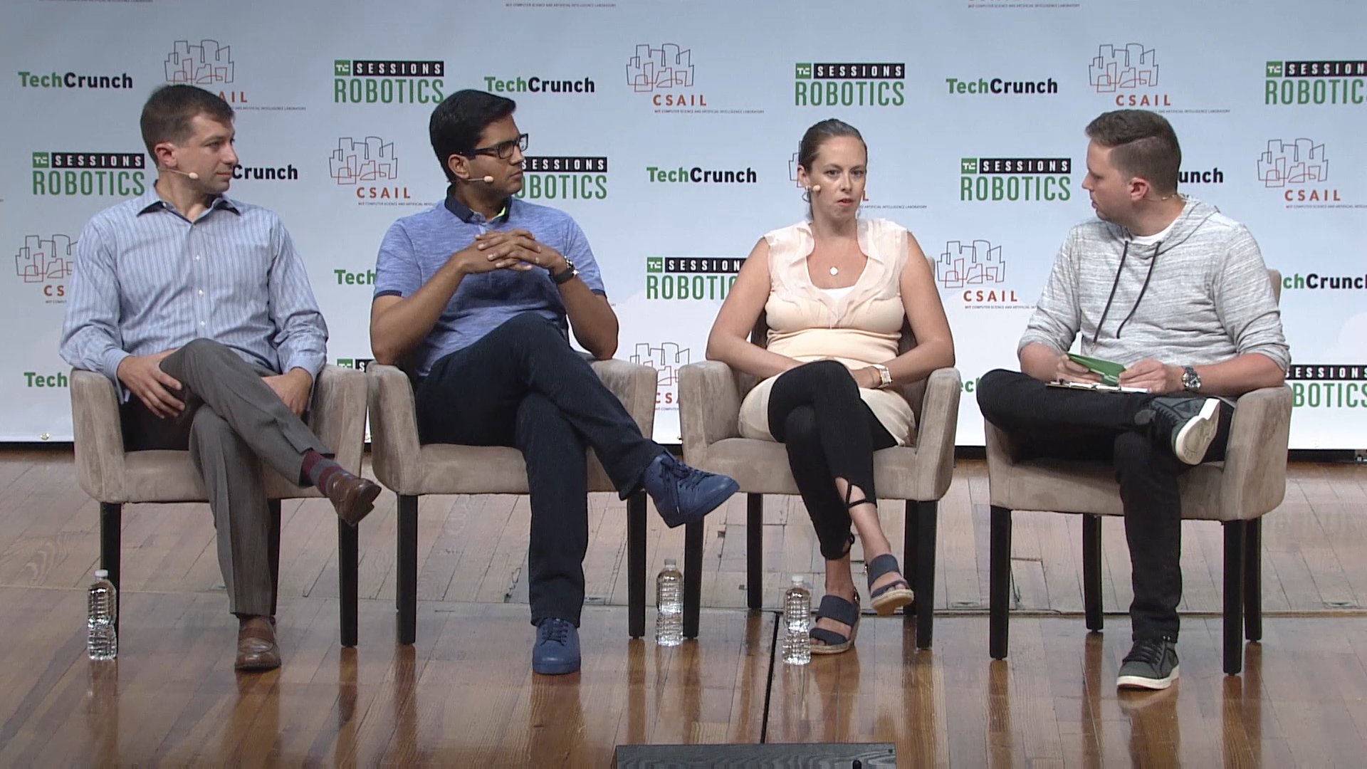 Building The Robot Brain with Heather Ames (Neurala), Brian Gerkey (Open Robotics) and Deepu Talla (Nvidia)