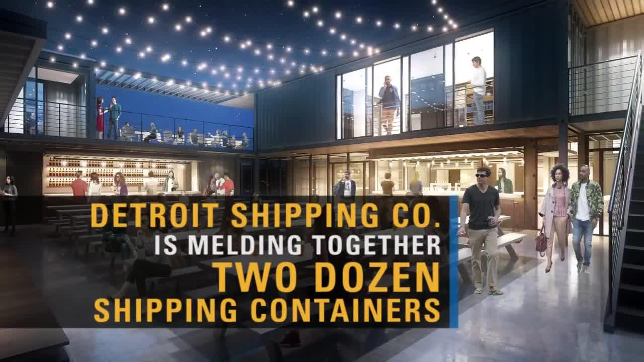 Shipping Containers Are An Instantly More Vibrant Community In A