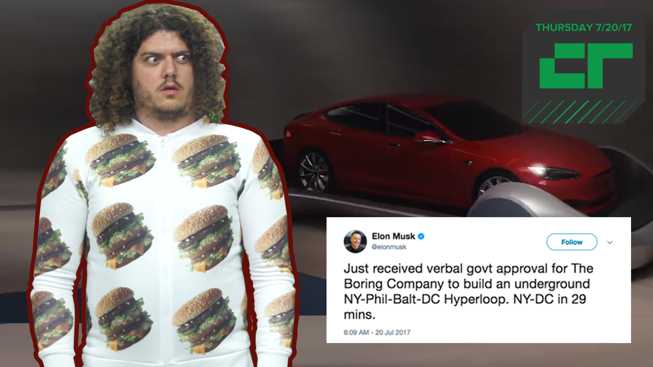 Elon Musk Wants To Make Infrastructure Great Again | Crunch Report