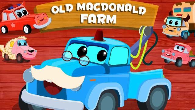 Zeek & Friends | old MacDonald | car cartoons | nurs...