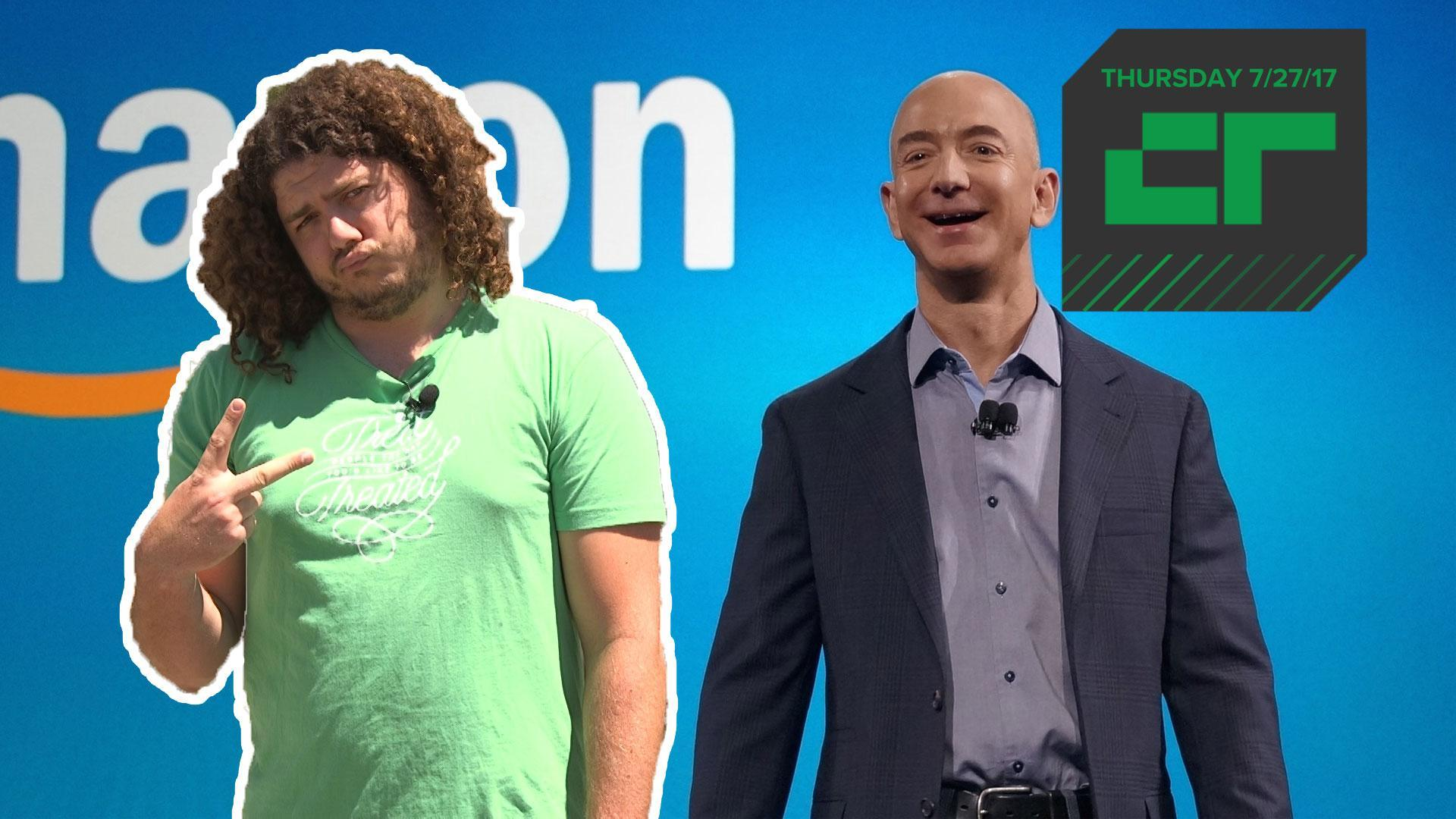 Jeff Bezos Becomes World's Richest Person | Crunch Report