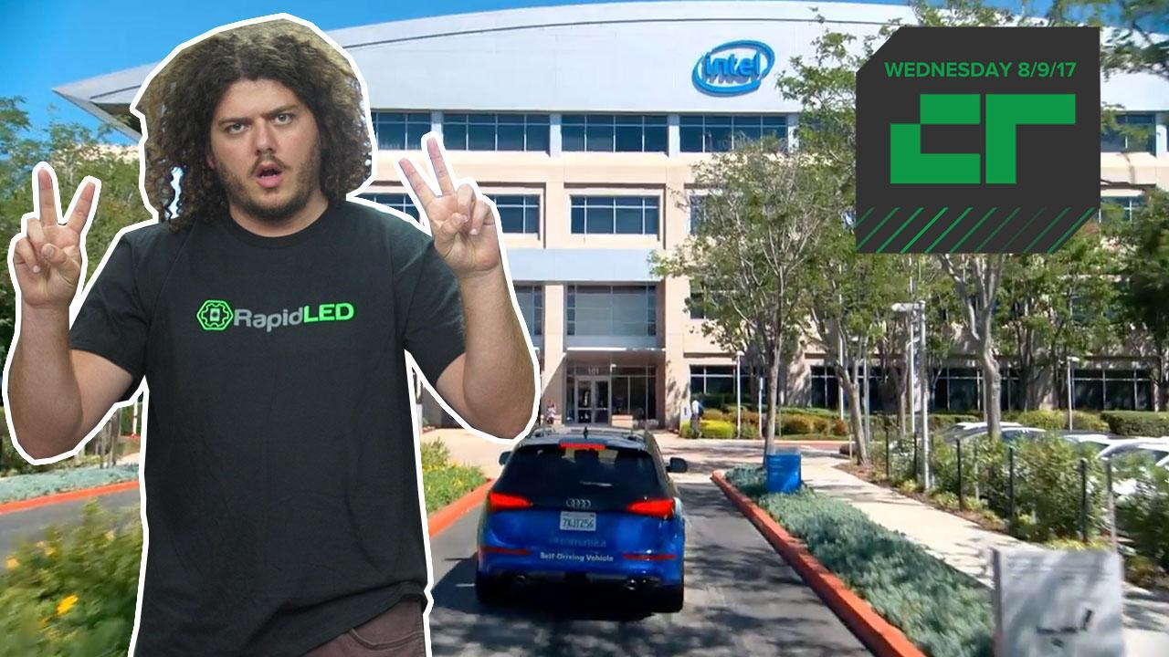 Intel Is Building Its Own Test Driving Fleet | Crunch Report