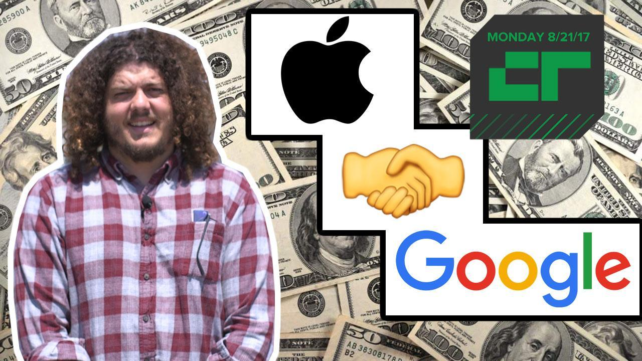 Google Pays Apple Lots of $$$ for Search | Crunch Report