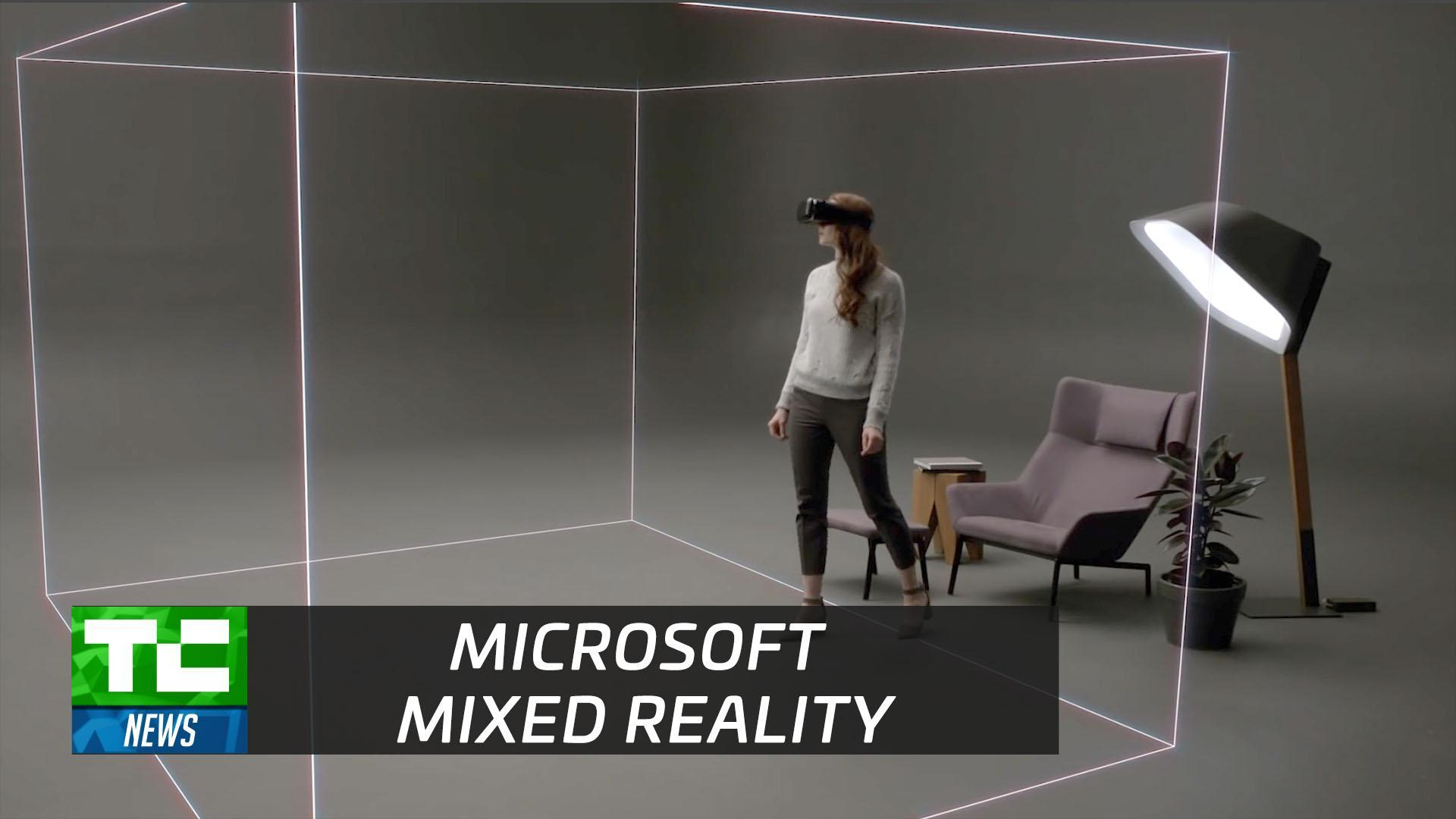 Microsoft's 'mixed reality' headsets
