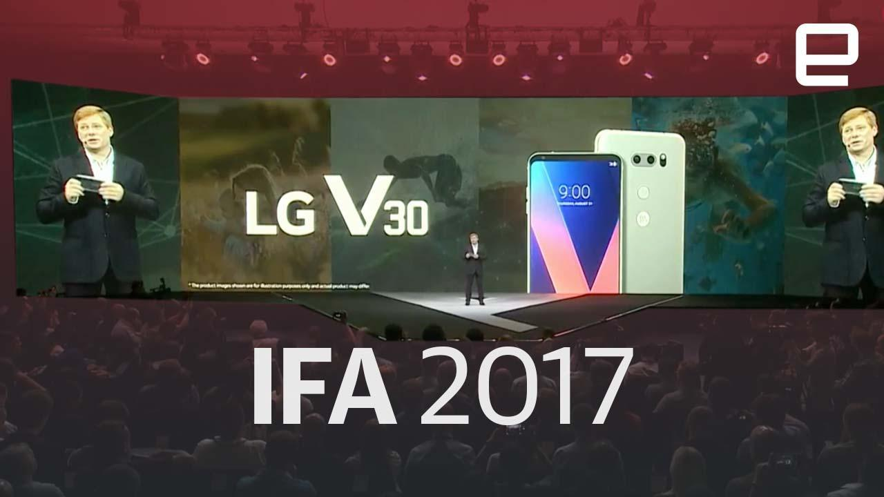 watch lg 39 s showcase from ifa 2017 in under eight minutes. Black Bedroom Furniture Sets. Home Design Ideas