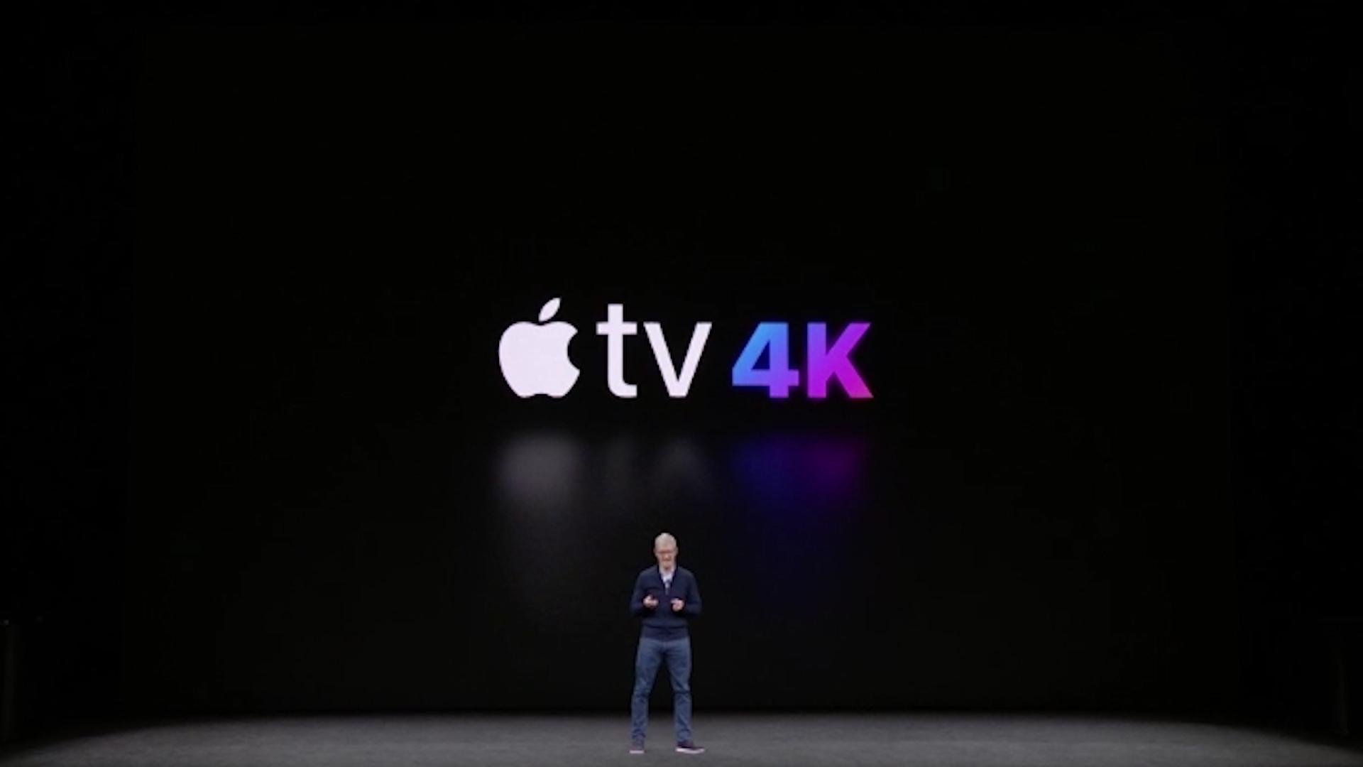 Apple TV arrives in 4K