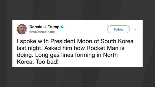 Democratic Senate leader calls Trump's 'Rocket Man' remark at UN 'risky'
