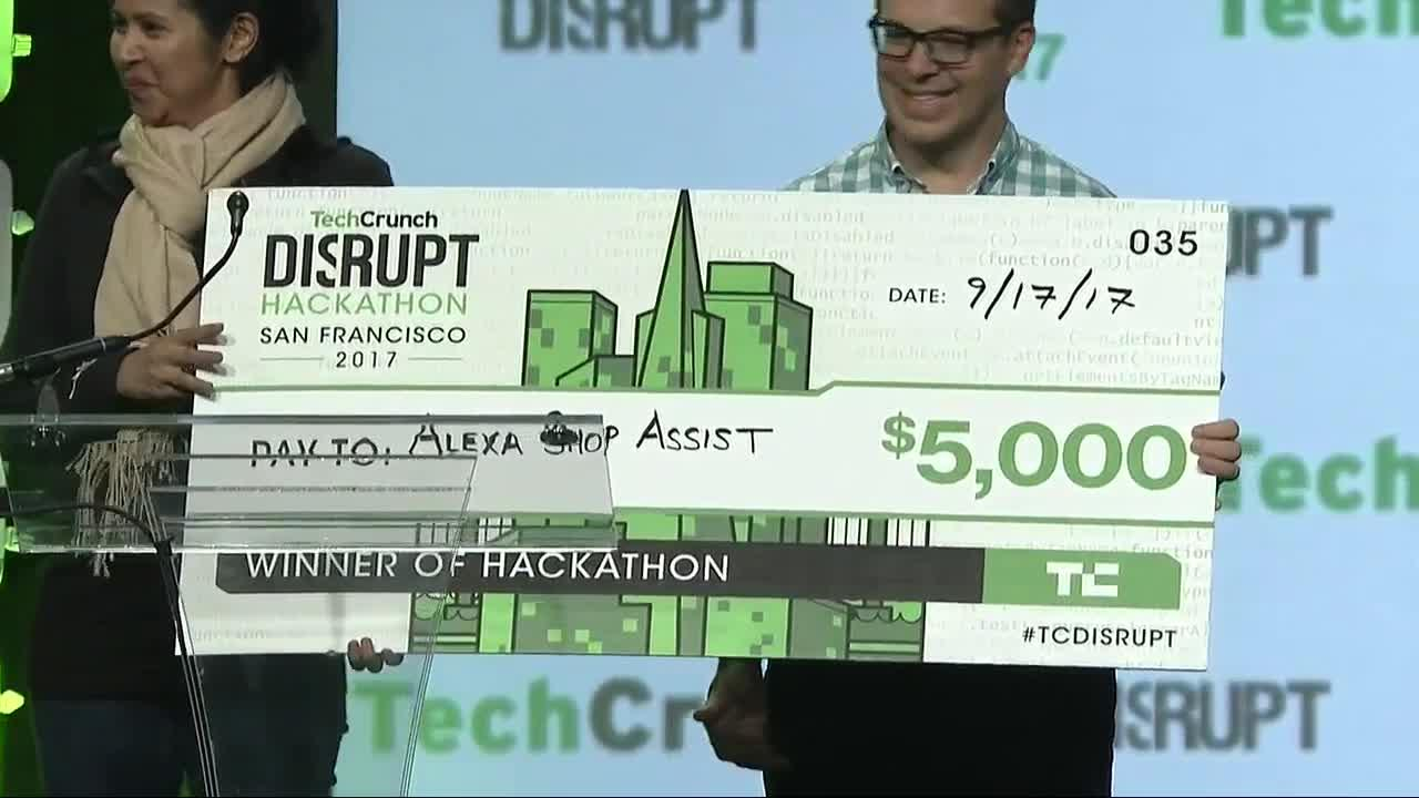 Disrupt SF Hackathon Winner: Alexa Shop Assist