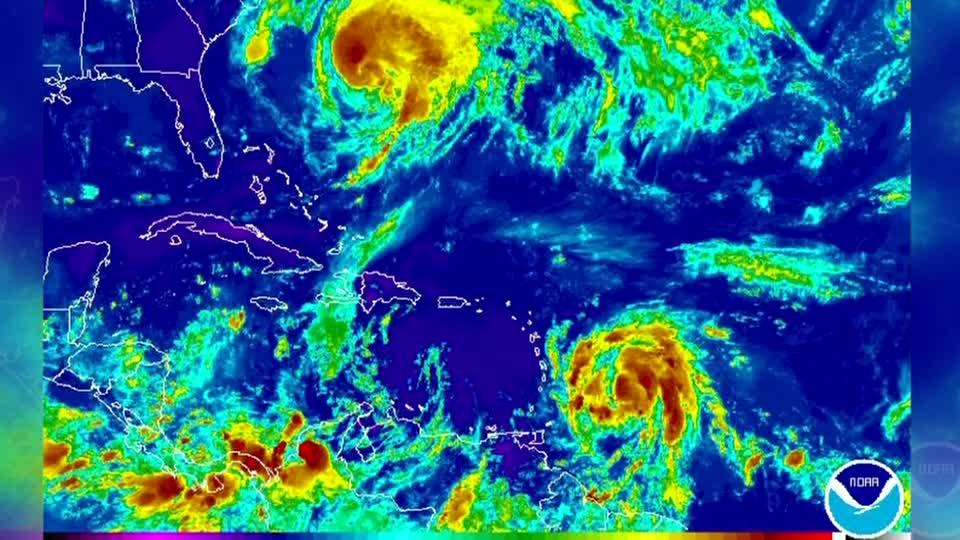 Hurricane Maria seen strengthening into major hurricane in next two days