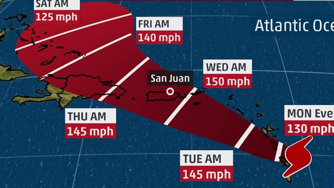 Caribbean faces another major hurricane as Maria bears down