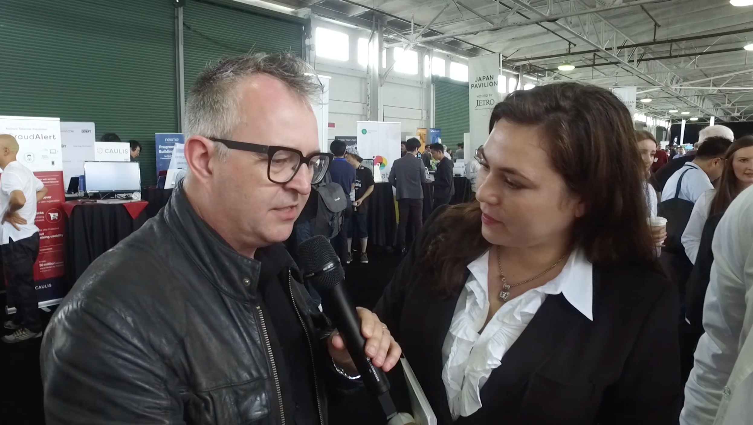 Startup Alley Health and Biotech with Mike Butcher