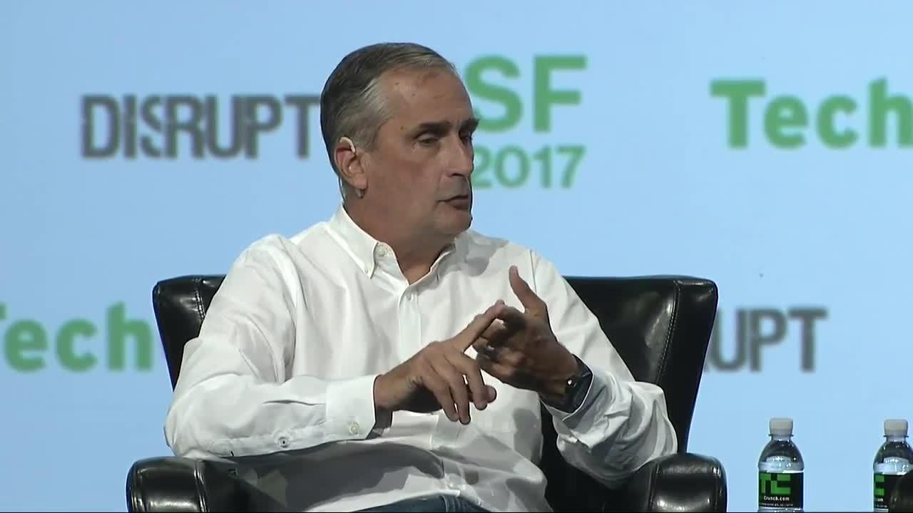Brian Krzanich (Intel) has some advice for startups #TCDisrupt