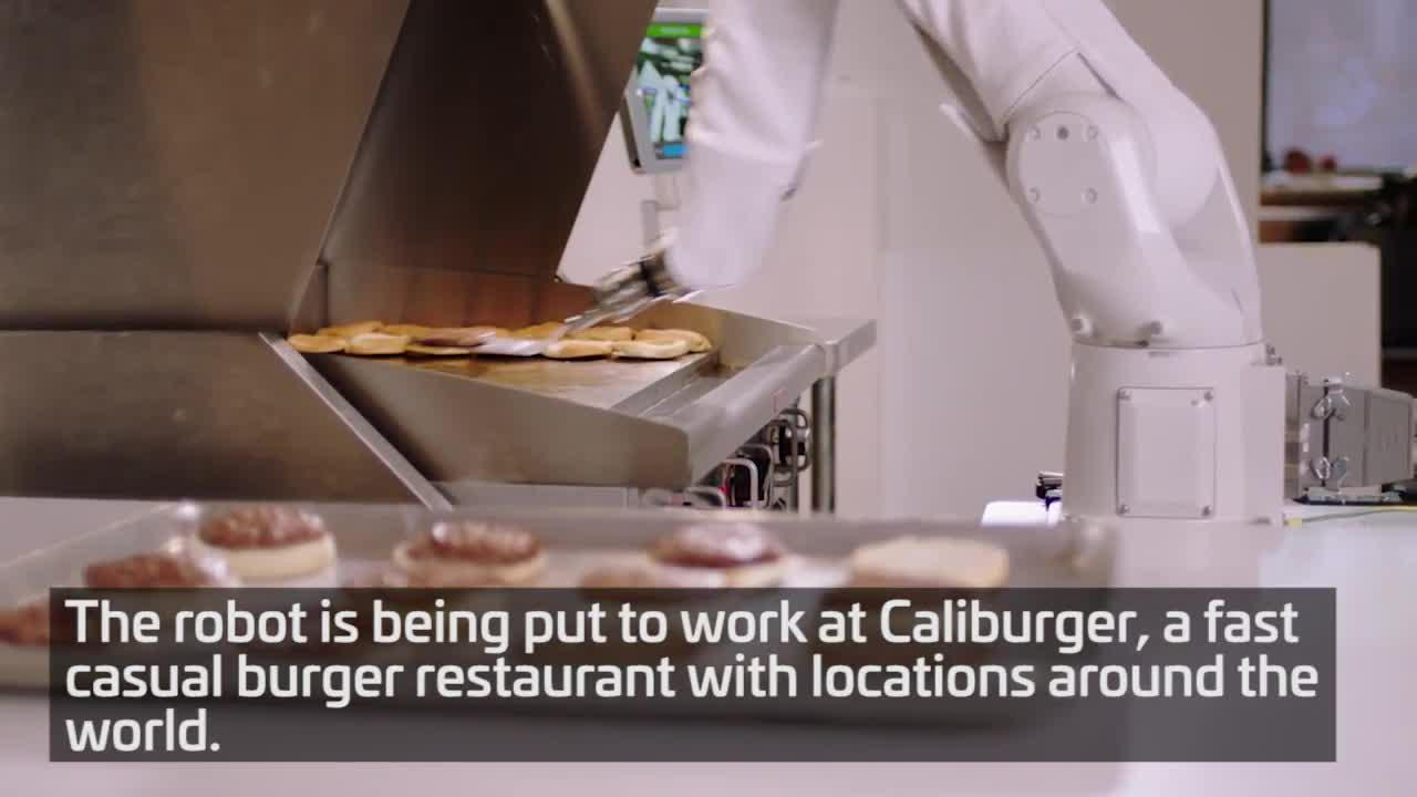 Flippy is a burger flipping robot