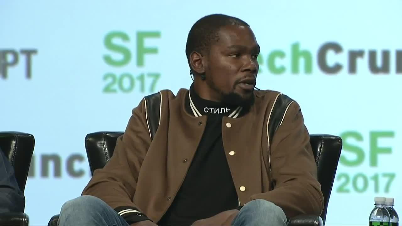 Kevin Durant on the birth of 35 media