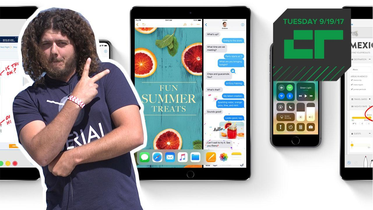 Crunch Report | iOS 11 Now Available toDownload