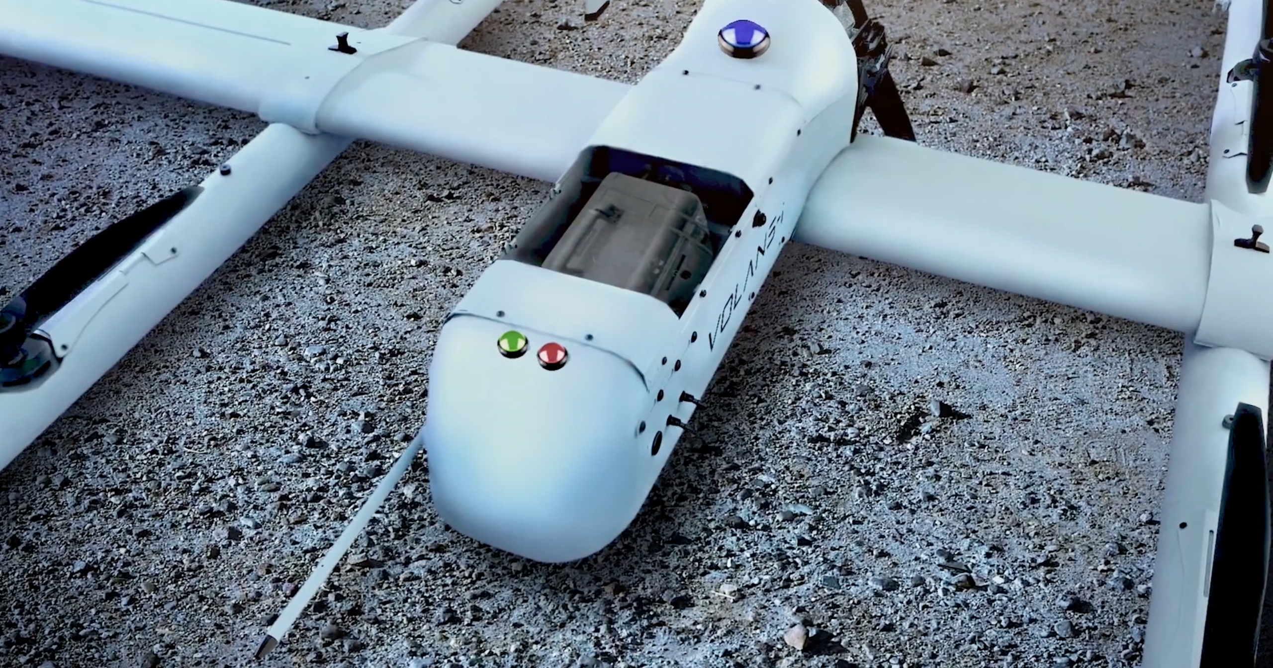 VOLANS-I Long Range Drone Delivery