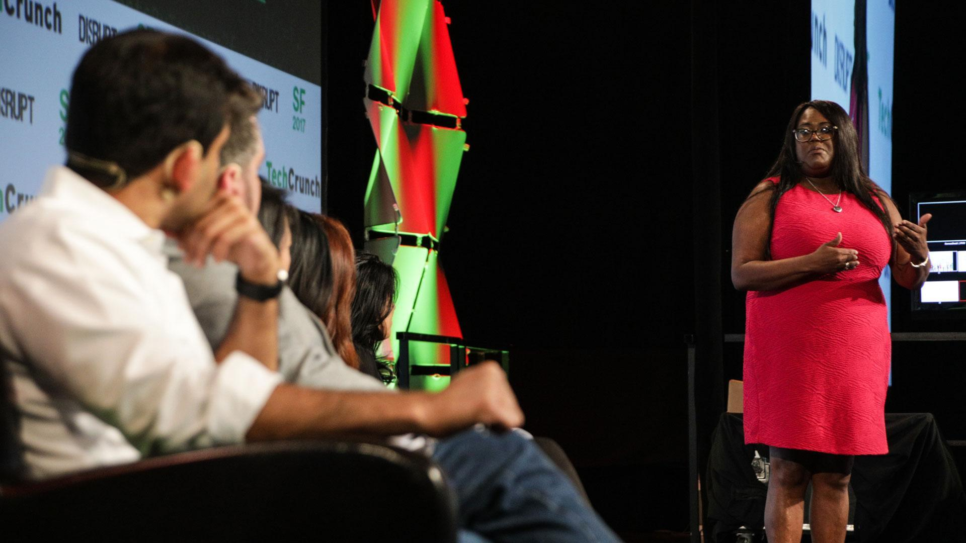 Disrupt SF 2017 Startup Battlefield Finals: Oneva