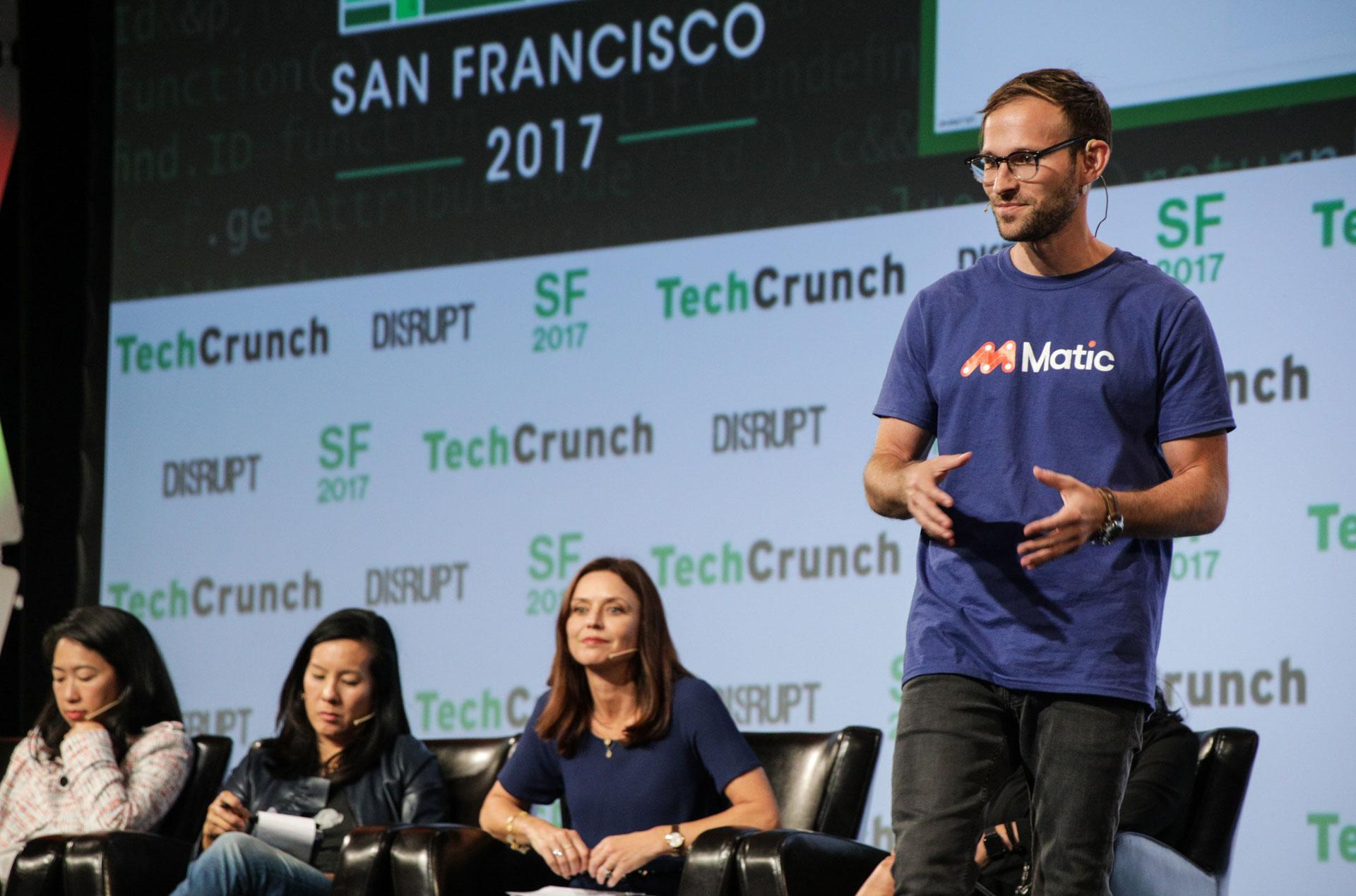 Disrupt SF 2017 Startup Battlefield Finals: Matic