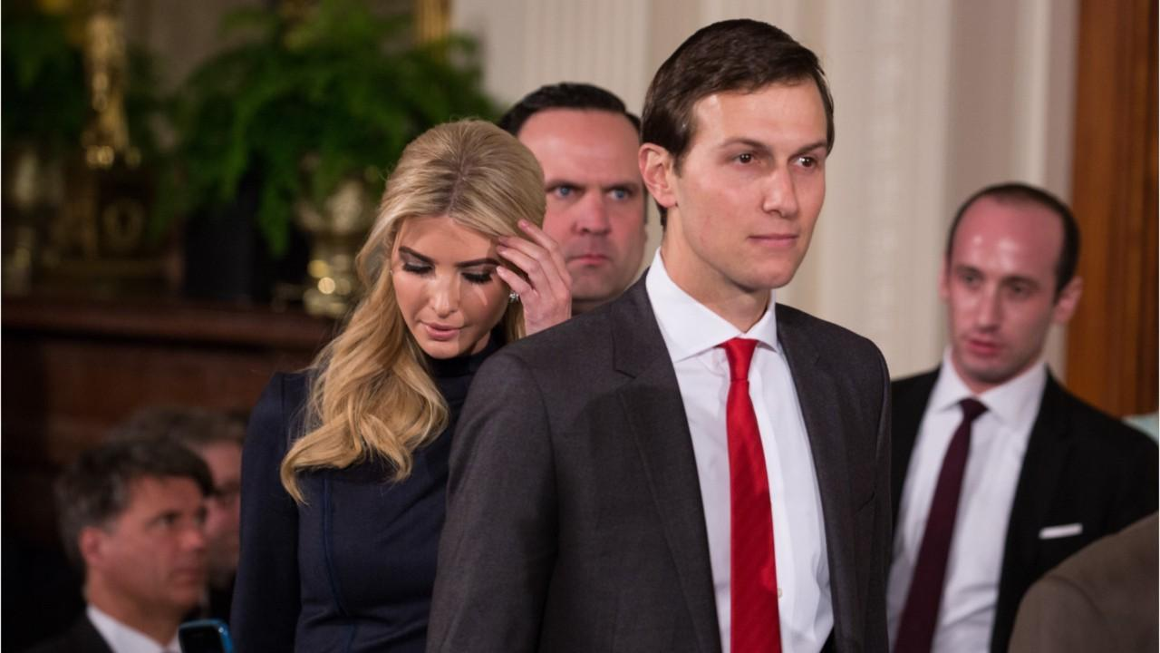 Kushner reportedly used a private email address to communicate with top White House officials