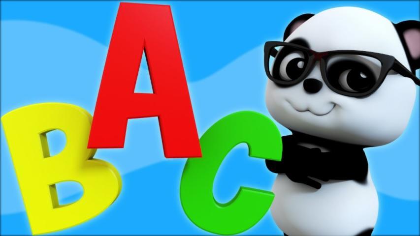 ABC Song | Phonics Song | 3d Nursery Rhymes | Kids R...