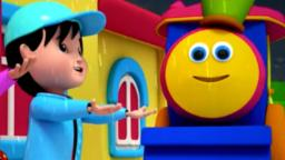 Bob The Train I Hear Thunder Nursery Rhymes For Kids...