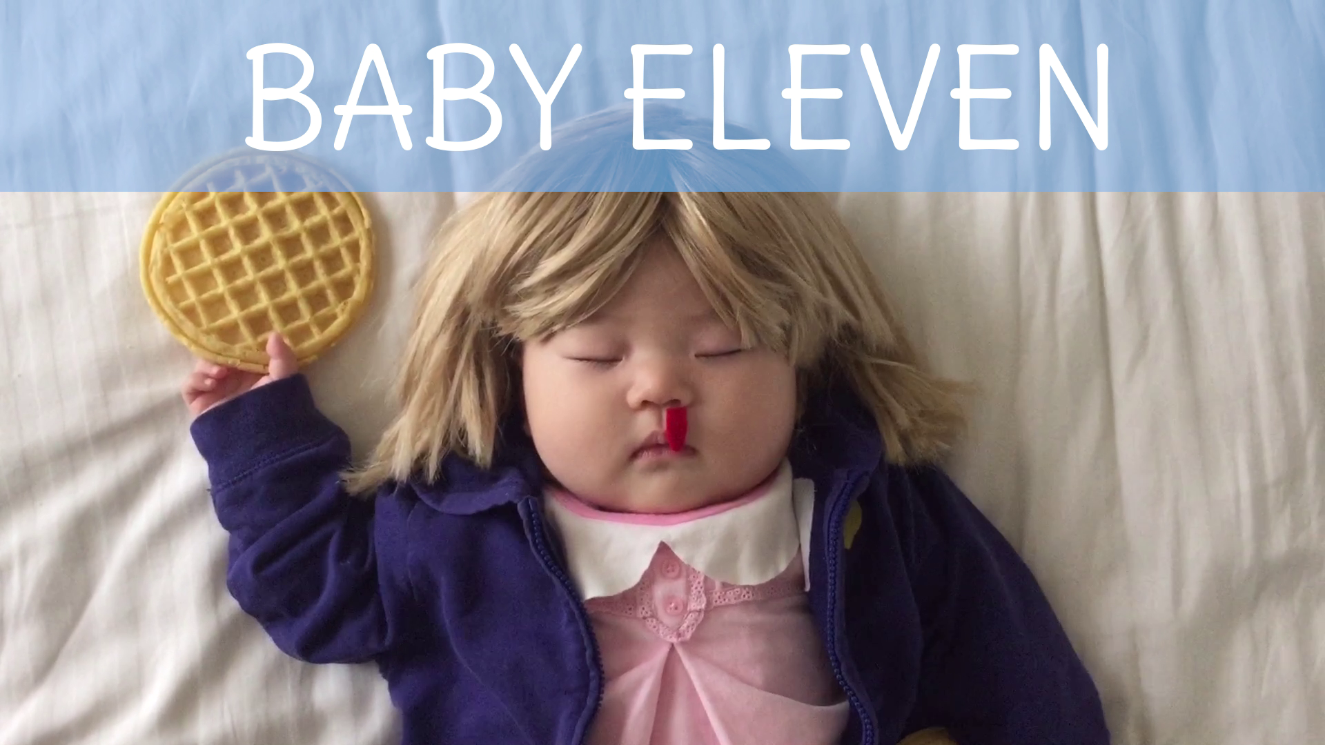 Eleven from Stranger Things - Baby Costume Tutorial