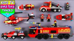 Learn Fire Department Vehicles With Lego | Vehicles ...