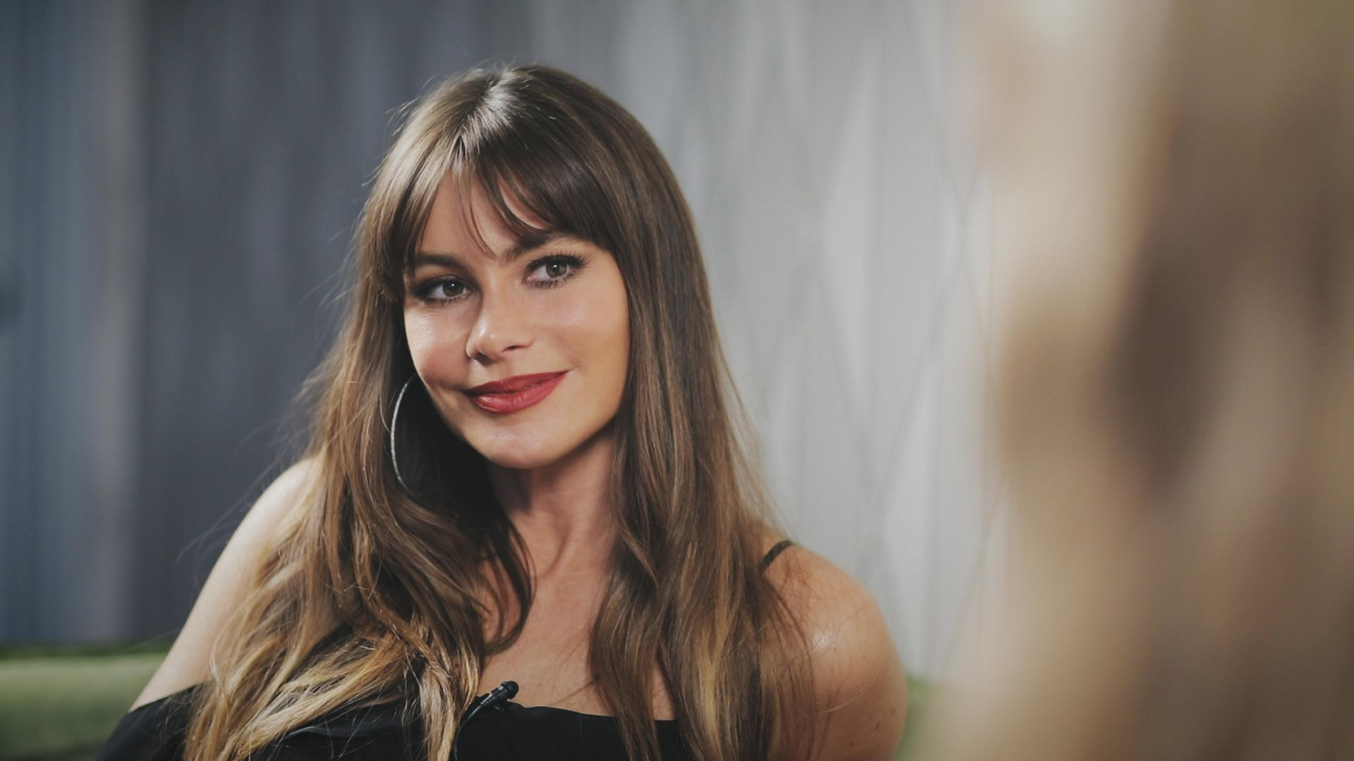 Sofia Vergara talks about her new underwear