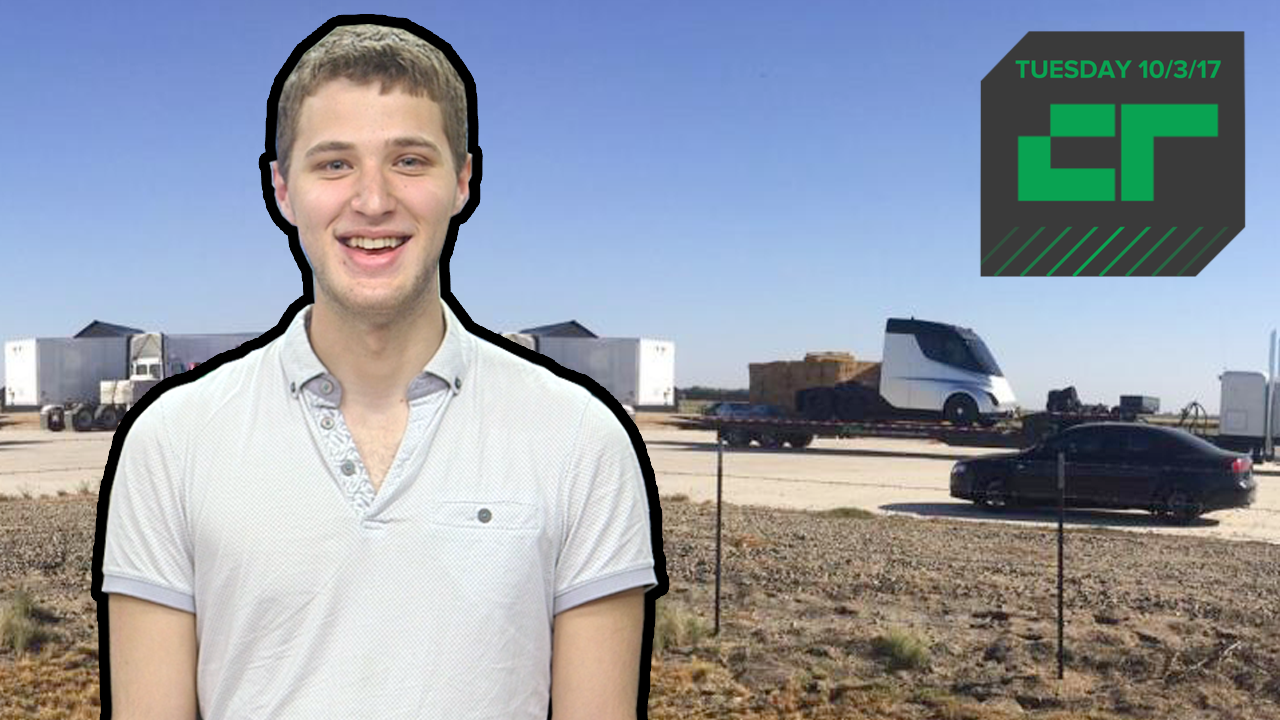 Is This Tesla's Electric Truck? | Crunch Report