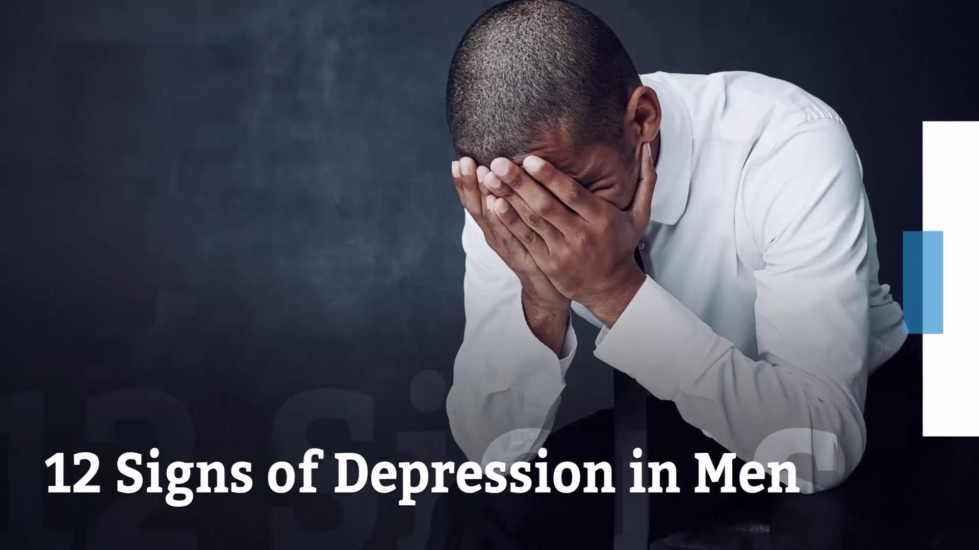depression in men Anxiety and depression in men are common and treatable anxiety and depression are medical conditions, not weaknesses, and effective treatments are available taking action may not be as hard as you think it's important to seek support for anxiety and depression early – the sooner the better .