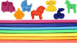 Learn Colors With Play Doh For Kids Children Babies ...