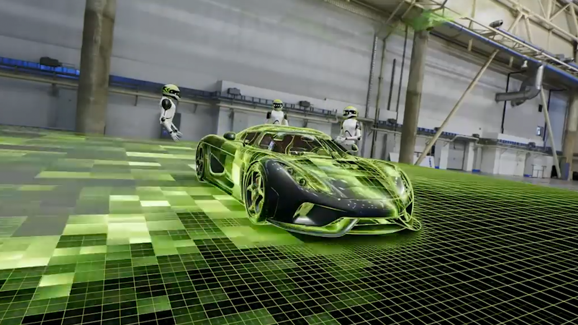 Nvidia built a real Holodeck, aimed at creative collaboration