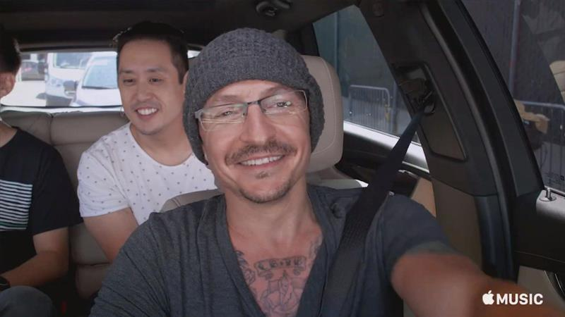 Watch Linkin Park's 'Carpool Karaoke,' dedicated to Chester Bennington