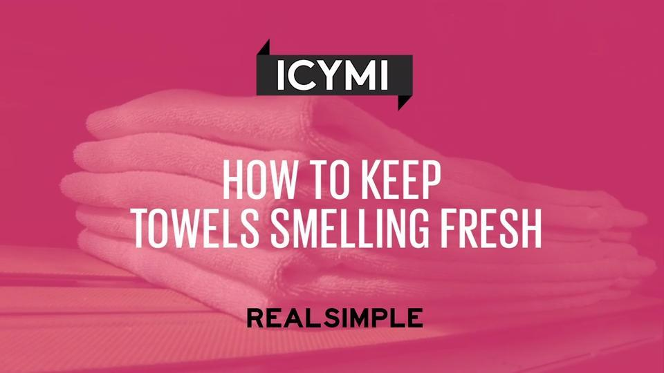 how to keep towels smelling fresh aol uk living