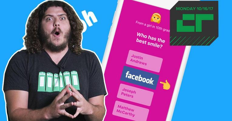 Crunch Report | TBH, Facebook Bought TBH So Snap Couldn't
