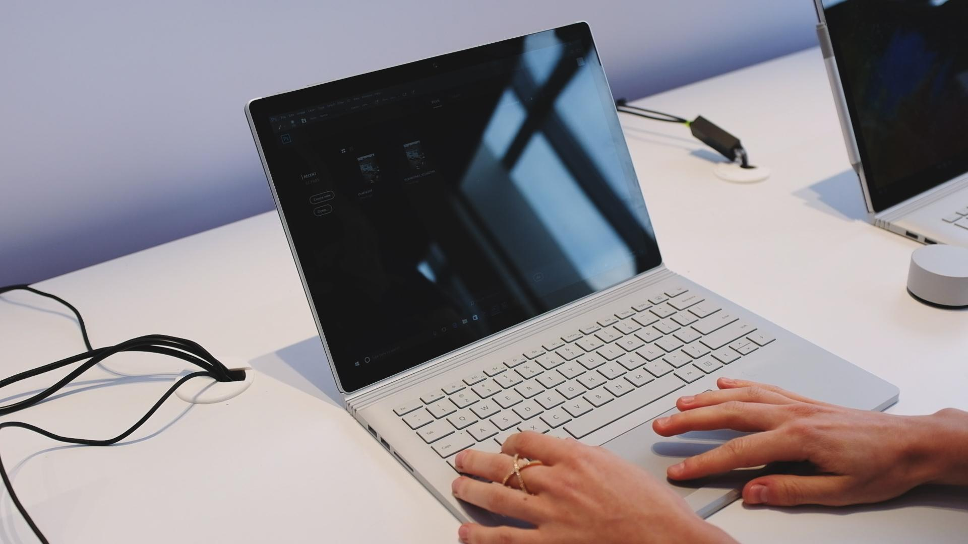 Microsoft unveils the Surface Book 2