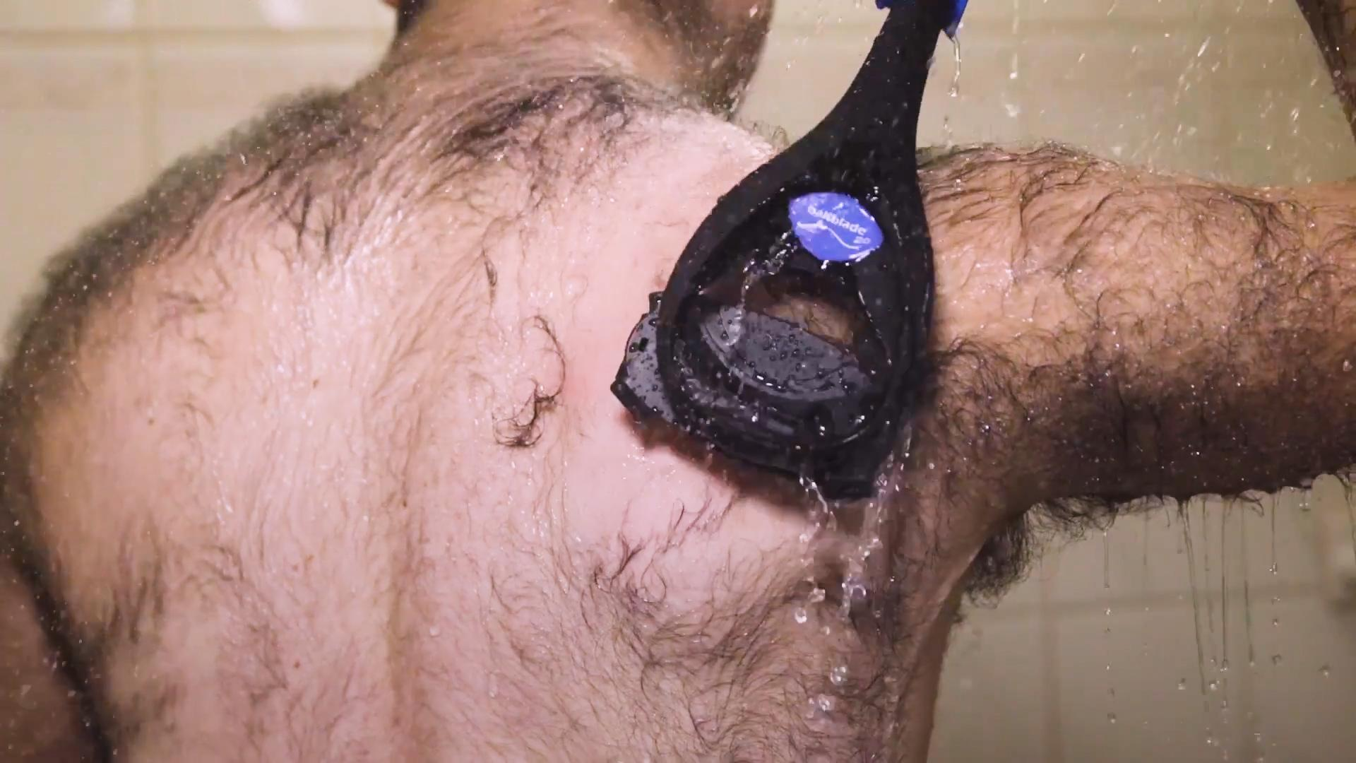 Hairy Backs Have Met Their Match With This Giant Razor